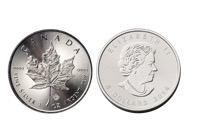 Canadian Maple Silver Coin